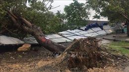 Huyện Vạn Ninh (Khánh Hòa) có mưa rất to, nhiều xã mất điện
