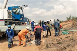 Sập mỏ vàng tại Zimbabwe khiếnhàng chục người mắc kẹt