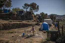 Hỏa hoạn thiêu rụi 15 lều trại của người tị nạn tại Hy Lạp