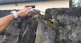 Lâm Đồng: Tường rào trường học xuống cấp, đe dọa an toàn của học sinh