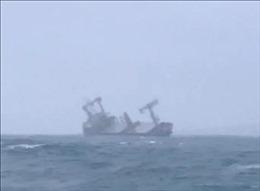 Vụ tàu Panama bị chìm gần đảo Phú Quý: Đã tìm thấy 10 thuyền viên