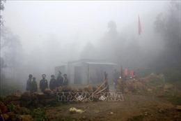 Bộ đội Biên phòng Lai Châu 'ăn núi, ngủ rừng' trong giá rét để làm nhiệm vụ