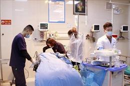 Cấp cứu thai phụ mang thai 6 tháng bị tai nạn lao động nghiêm trọng