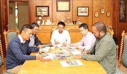 Dấu ấn những ngày thông tin về Đại hội Đảng tại châu Phi