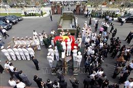 Tiễn đưa nguyên Phó Thủ tướng Trương Vĩnh Trọng về nơi an nghỉ cuối cùng