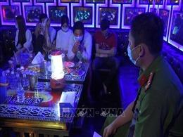 Bắt quả tang 26 đối tượng sử dụng ma túy trong quán Karaoke Lê Đăng