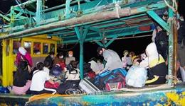 Phát hiện 34 trường hợp nhập cảnh trái phép bằng đường biển