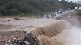 Lũ lụt tại Algeria khiến ít nhất 7 người thiệt mạng