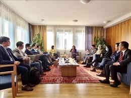 Lễ ra mắt Hội nhịp cầu kinh doanh Việt Nam - Thụy Sĩ