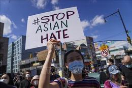 Tuần hành phản đối bạo lực nhằm vào người gốc Á tại Mỹ