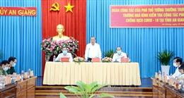 Phó Thủ tướng Trương Hòa Bình làm việc với An Giang về phòng, chống dịch COVID-19