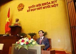 Trình Quốc hội miễn nhiệm chức vụ Chủ tịch nước