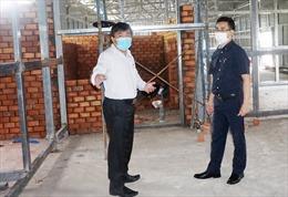 Bộ Xây dựng hỗ trợ tỉnh Kiên Giang sớm hoàn thành bệnh viện dã chiến