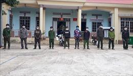 Phát hiện nhóm đối tượng vận chuyển lâm sản trái phép vào Việt Nam