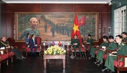 Bộ trưởng Bộ Quốc phòng tiếp Đại sứ Lào, Campuchia và Liên bang Nga
