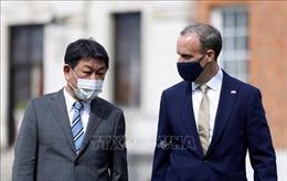 Nhật Bản thúc đẩy hợp tác song phương với Canada, Anh