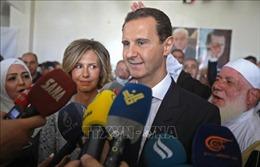 Tổng thống Syria Bashar al-Assad tái đắc cửnhiệm kỳ thứ tư