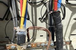 Liên tiếp xảy ra hàng chục vụ trộm cắp vật tư, thiết bị ngành điện
