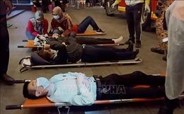 Trên 200 người bị thương trong vụ va chạm tàu cao tốc tại Malaysia