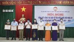 Tỉ lệ cử tri Thừa Thiên - Huế đi bầu cử đạt trên 99,9%