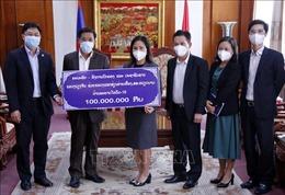 Người dân Lào tiếp tục chung tay cùng Việt Nam phòng chống dịch COVID-19