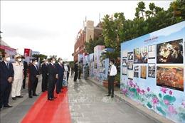 Triển lãm 'Nguyễn Tất Thành - Hồ Chí Minh: Từ Bến cảng Nhà Rồng đến Quảng trường Ba Đình lịch sử'