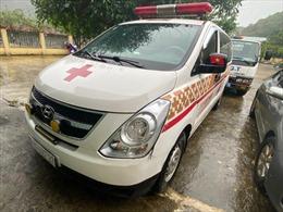 Thông tin về vụ xe cứu thương chở khách 'chui'từ Bắc Ninh về Sơn La