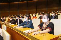 Thông qua Nghị quyết phê chuẩn Phó Chủ tịch, Ủy viên Hội đồng Quốc phòng và An ninh