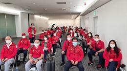 Đoàn Việt Nam đã có mặt ở Nhật Bản, sẵn sàng chinh phục Olympic Tokyo 2020