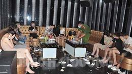 Phát hiện trên 40 đối tượng sử dụng ma túy tại quán karaoke Badboy