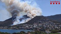 Cháy rừng tại Tây Ban Nha, 350 người phải đi sơ tán