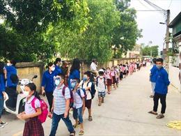 Thanh Hóa: Trên 49.000 học sinh tạm dừng đến trường do có ca mắc COVID-19