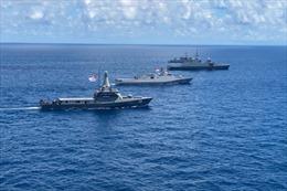 Singapore, Indonesia kết thúc tập trận hải quân Eagle Indopura