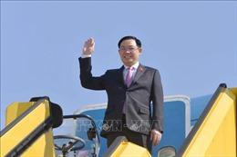Chủ tịch Quốc hội Vương Đình Huệ đến Cộng hòa Áo tham dự Hội nghị WCSP5