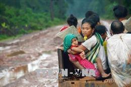 Bộ Quốc phòng hỗ trợ Lào 50.000 USDkhắc phục hậu quả vỡ đập thủy điện