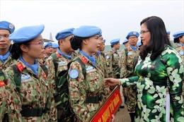 Nữ sĩ quan đầu tiên của Việt Nam thực hiện nhiệm vụ gìn giữ hòa bình