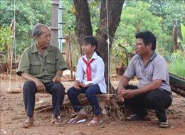 Đổi thay ở làng biên giới Kloong - quê hương mới của 500 người gốc Campuchia