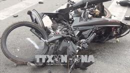 Xe giường nằm va chạm xe máy, một người tử vong tại chỗ