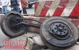 Tai nạn liên hoàn giữa 7 xe ô tô trên Quốc lộ 1