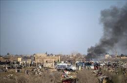 Nhiều phụ nữ và trẻ em thiệt mạng trong vụ không kích của liên quân ở Syria