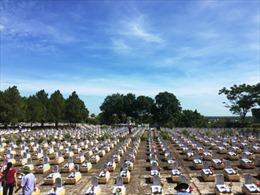 Đón nhận 26 hài cốt liệt sỹ ở Lào về an táng tại Nghĩa trang Liệt sỹ Quốc gia Đường 9