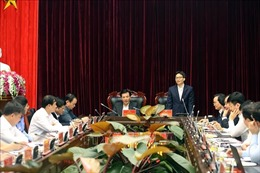 Phó Thủ tướng Vũ Đức Đam làm việc tại tỉnh Điện Biên