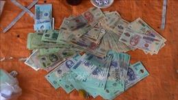 Phá sòng 'tài - xỉu' trực tuyến trong khu dân cư TP Hồ Chí Minh