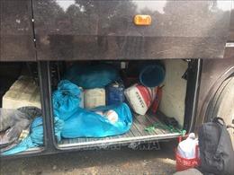 Phát hiện nửa tấn thực phẩm bốc mùi hôi thối trên xe khách giường nằm