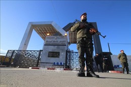 Ai Cập tạm thời mở lại cửa khẩu với Dải Gaza