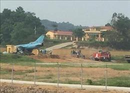 Xác minh vụ máy bay SU-22 M4 gặp nạn khi đang bay huấn luyện