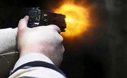 Bịt mặt, nổ súng cướp ngân hàng tại Thanh Hóa
