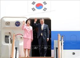 Tổng thống Hàn Quốc công du Trung Á