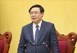 Phó Thủ tướng Vương Đình Huệ đốc thúc giải ngân vốn đầu tư công