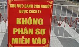 Đà Nẵng cách ly y tế một số khu vực ở quận Thanh Khê